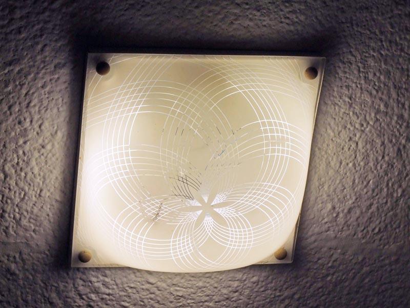 Plafoniera Con Lampada A Vista : Ilsitodelfaidate fai da te elettricità modificare una