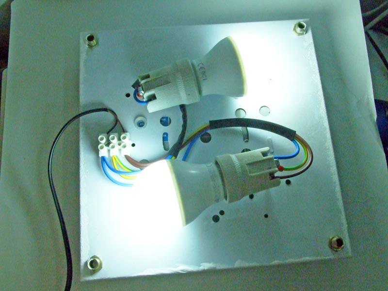 Plafoniera Neon Fai Da Te : Ilsitodelfaidate fai da te elettricità modificare una