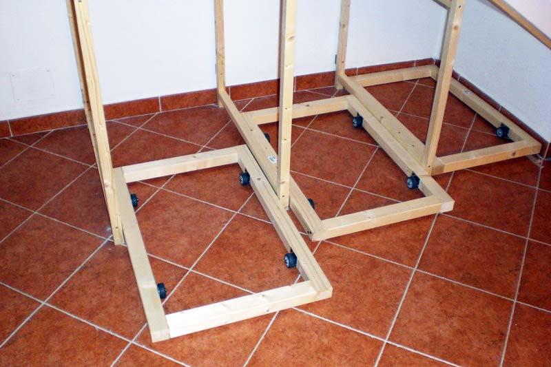 Fai da te falegnameria costruire un mobile per un sottoscala - Costruire mobili in legno fai da te ...