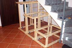 Fai da te falegnameria costruire un mobile per un sottoscala - Mobili sottoscala in legno ...