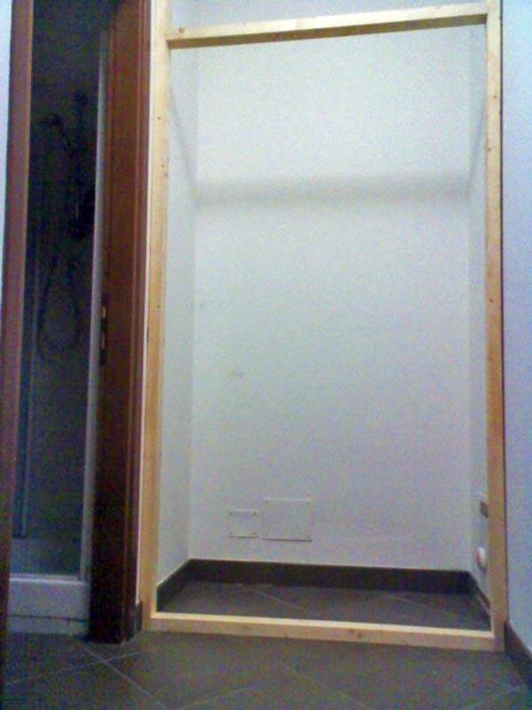 Come Costruire Un Armadio A Muro In Legno. Latest Mobili Sotto ...