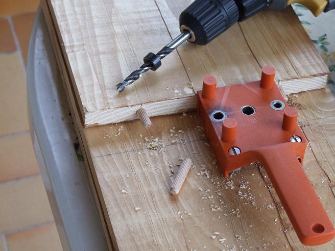 Fai da te falegnameria costruire - Tasselli in legno per mobili ...