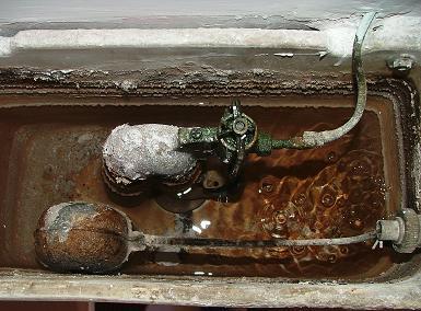Riparare il gruppo di scarico del water muratura - Cambiare rubinetto bagno ...