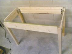 Fai da te costruire un tavolo da cucina faidate in legno parte 1 - Tavolo cucina fai da te ...